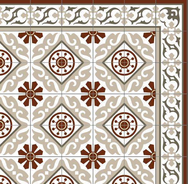 vinyl tile floor design patterns joy studio design. Black Bedroom Furniture Sets. Home Design Ideas