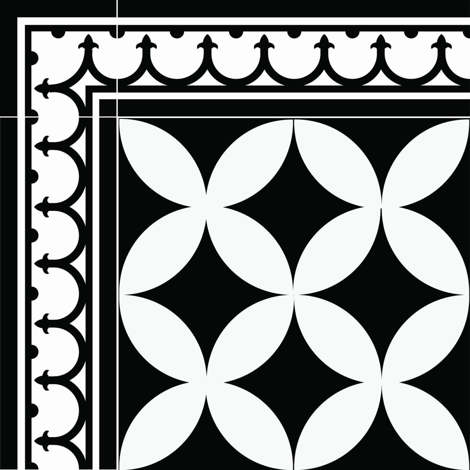 traditional-tiles-floor-tiles-floor-vinyl-tile-stickers-tile-decals ...