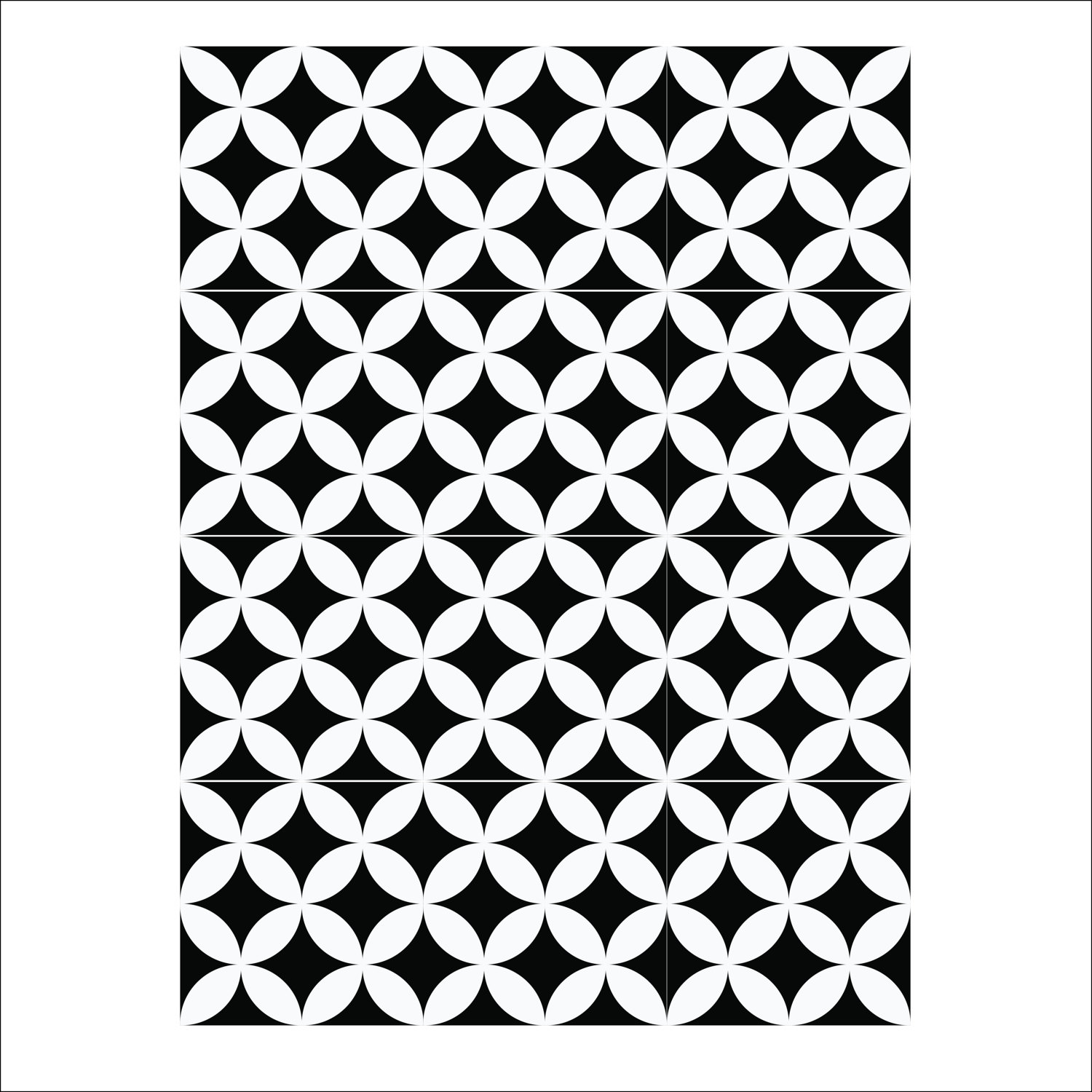 Floor Tile DecalsStickers Vinyl Decals Vinyl Floor Self Adhesive - Black and white square vinyl flooring