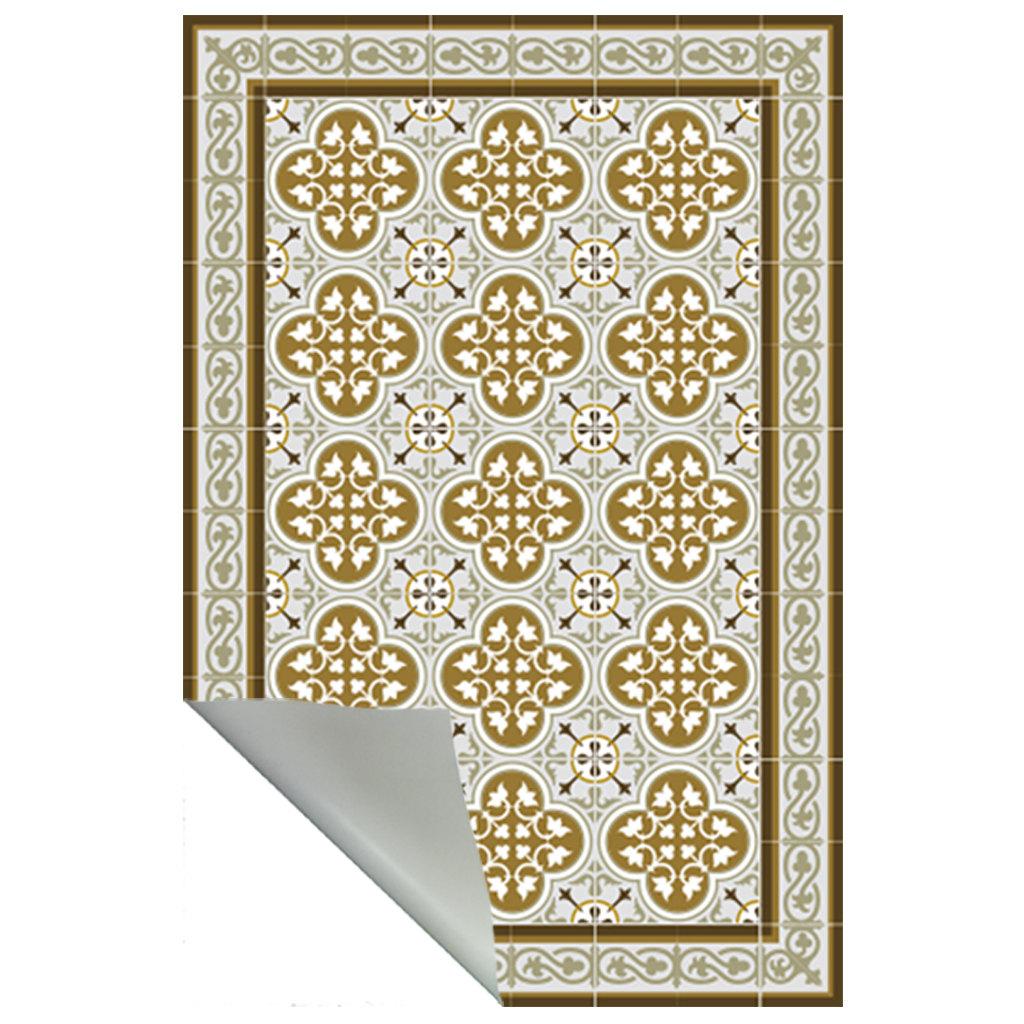 free-shipping-tiles-pattern-decorative-pvc-vinyl-mat-linoleum-rug-color-ocher-and-brown-174-pvc-rug-kitchen-mat-5897b1353.jpg