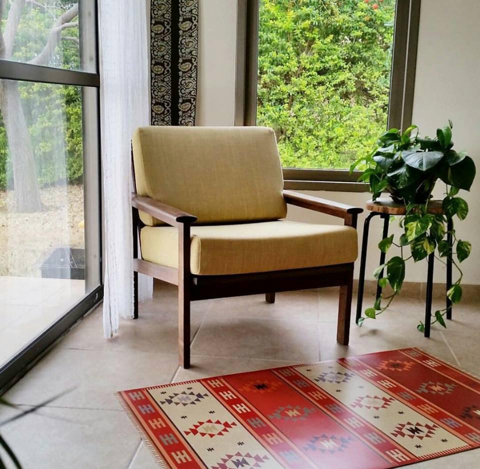 Kilim rug, Pvc mat, Vintage Turkish rug, rugs, area rug, vintage rug, bohemian rug, eclectic rug, rug 603