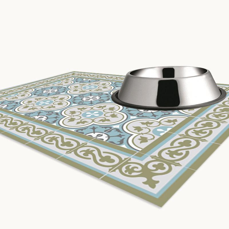PVC Door Mat, Welcome Mat, Tile rug , Dog Rug, Pets mat,  Comfort mat, Housewarming , 178