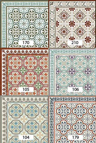 SAMPLE - Pvc Vinyl Mat, Linuleum Rug - SAMPLE ONLY - free shipping