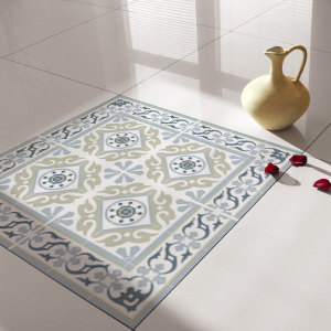 Traditional Tiles - Floor Tiles - Floor Vinyl - Tile Stickers - Tile Decals - bathroom tile decal - kitchen tile decal - 212