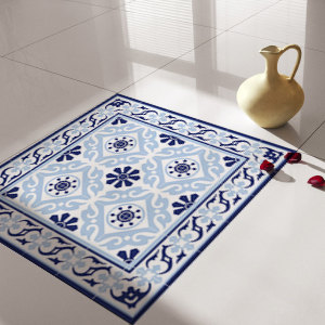 Traditional Tiles - Floor Tiles - Floor Vinyl - Tile Stickers - Tile Decals - bathroom tile decal - kitchen tile decal - 213