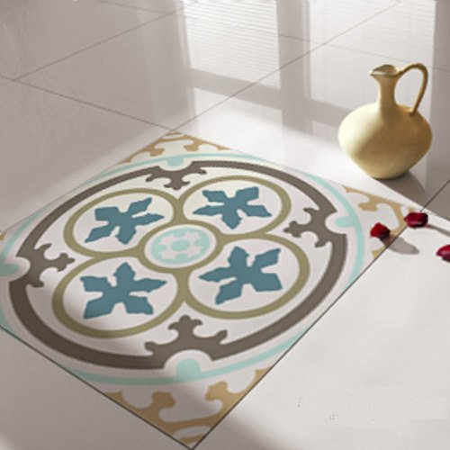 Floor Tile Decals/Stickers, Vinyl Decals, Vinyl Floor, Self Adhesive, Tile Stickers, Decorative Tile, Flooring, Removable Stickers no. 104