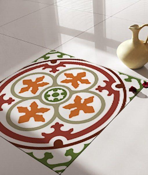 Floor Tile Decals/Stickers, Vinyl Decals, Vinyl Floor, Self Adhesive, Tile Stickers, Decorative Tile, Flooring, Removable Stickers no. 105