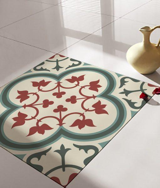 Floor Tile Decals/Stickers, Vinyl Decals, Vinyl Floor, Self Adhesive, Tile Stickers, Decorative Tile, Flooring, Removable Stickers no. 177