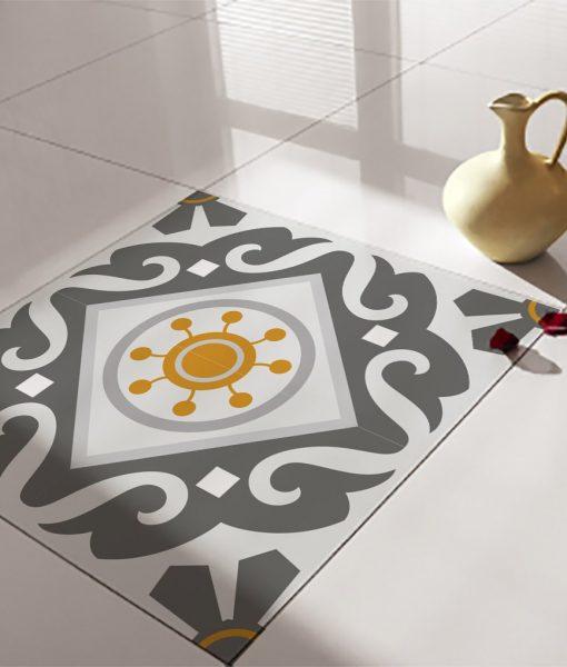 Floor Tile Decals/Stickers, Vinyl Decals, Vinyl Floor, Self Adhesive, Tile Stickers, Decorative Tile, Flooring, Removable Stickers no. 214