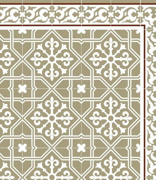 Kitchen Mat, Kitchen décor, Mat, rustic kitchen, Decorative tiles, Designed kitchen, Printed mat, Pvc mat, bright green, no. 604