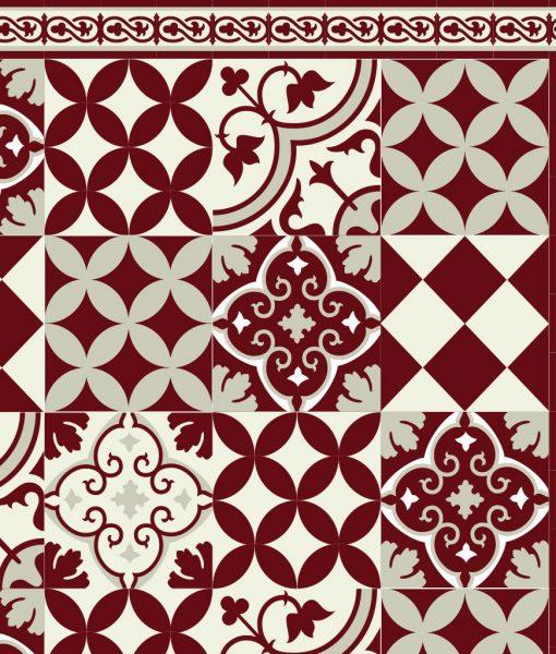 Mat, Floor rug, Kitchen décor, Kitchen mat, Rustic kitchen, Decorative tiles, Designed kitchen, Printed mat, Pvc mat, Gray, no. 311