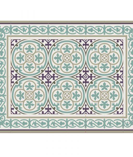 Placemat, PVC , Tile decoration design, Dinning wear, Table wear , Holidays gift, chrismas gift, Centerpiece, table decoration, design 106