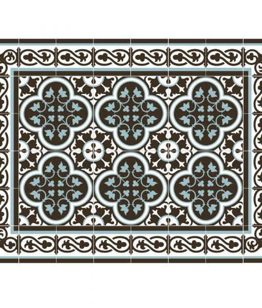 Placemat, PVC , Tile decoration design, Dinning wear, Table wear , Holidays gift, chrismas gift, Centerpiece, table decoration, design 171