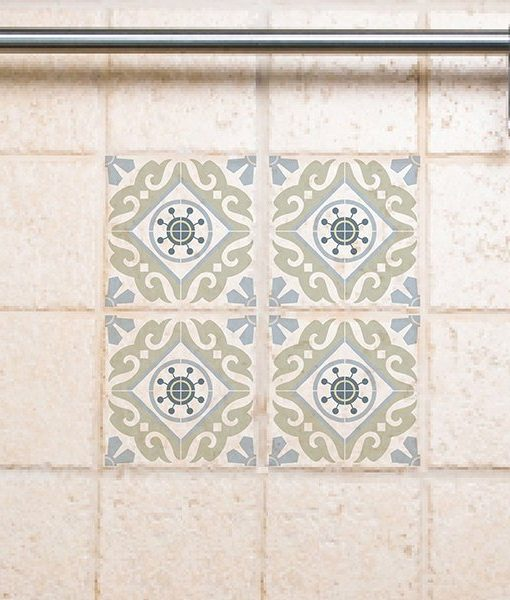 Tile Decals  Kitchen/Bathroom tiles vinyl floor tiles free shipping – 212