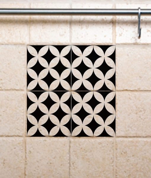 Tile Decals,  Kitchen/Bathroom tiles, vinyl, wall floor tiles, kitchen decoratiom, free shipping – 132
