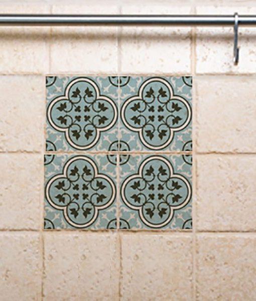Tile Decals,  Kitchen/Bathroom tiles, vinyl, wall floor tiles, kitchen decoratiom, free shipping – 172
