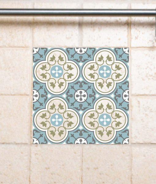 Tile Decals,  Kitchen/Bathroom tiles, vinyl, wall floor tiles, kitchen decoratiom, free shipping – 178