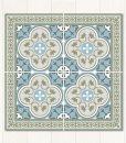 Traditional Tiles – Floor Tiles – Floor Vinyl – Tile Stickers – Tile Decals – bathroom tile decal – kitchen tile decal – 178