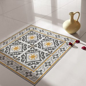 Traditional Tiles – Floor Tiles – Floor Vinyl – Tile Stickers – Tile Decals – bathroom tile decal – kitchen tile decal – 214