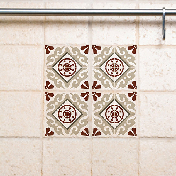 15/15 cm Tile Wall Decals Stickers 210 - free shipping
