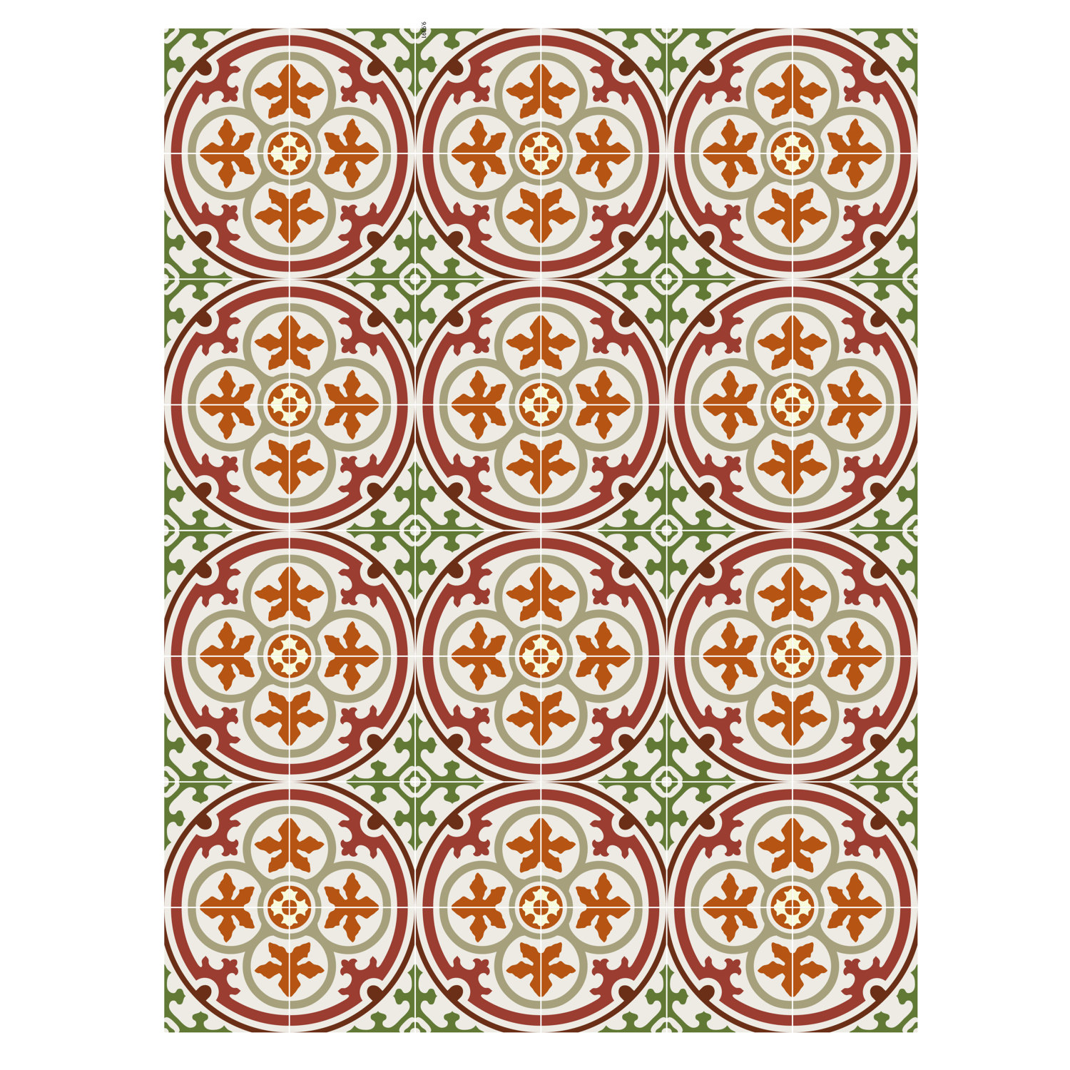 floor tile decalsstickers vinyl decals vinyl floor self - Decorative Tile