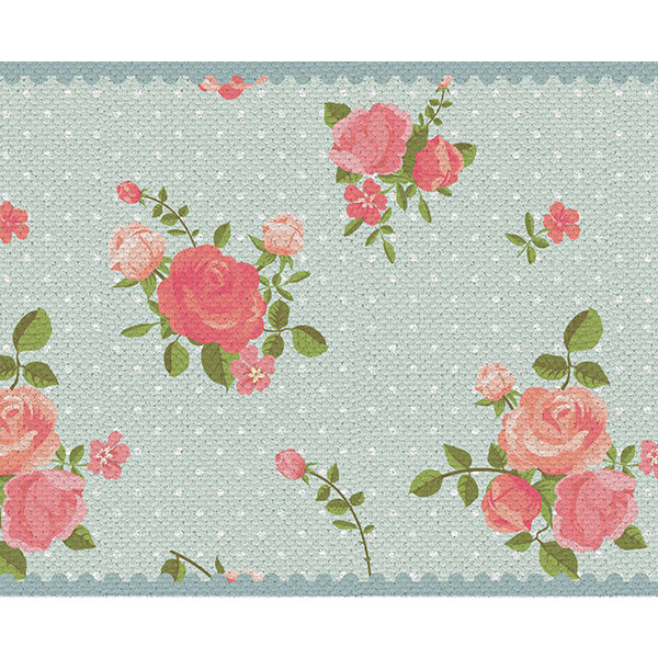 Free Shipping flowers Table Runner Wedding Table Runner flowers design placemat no.04