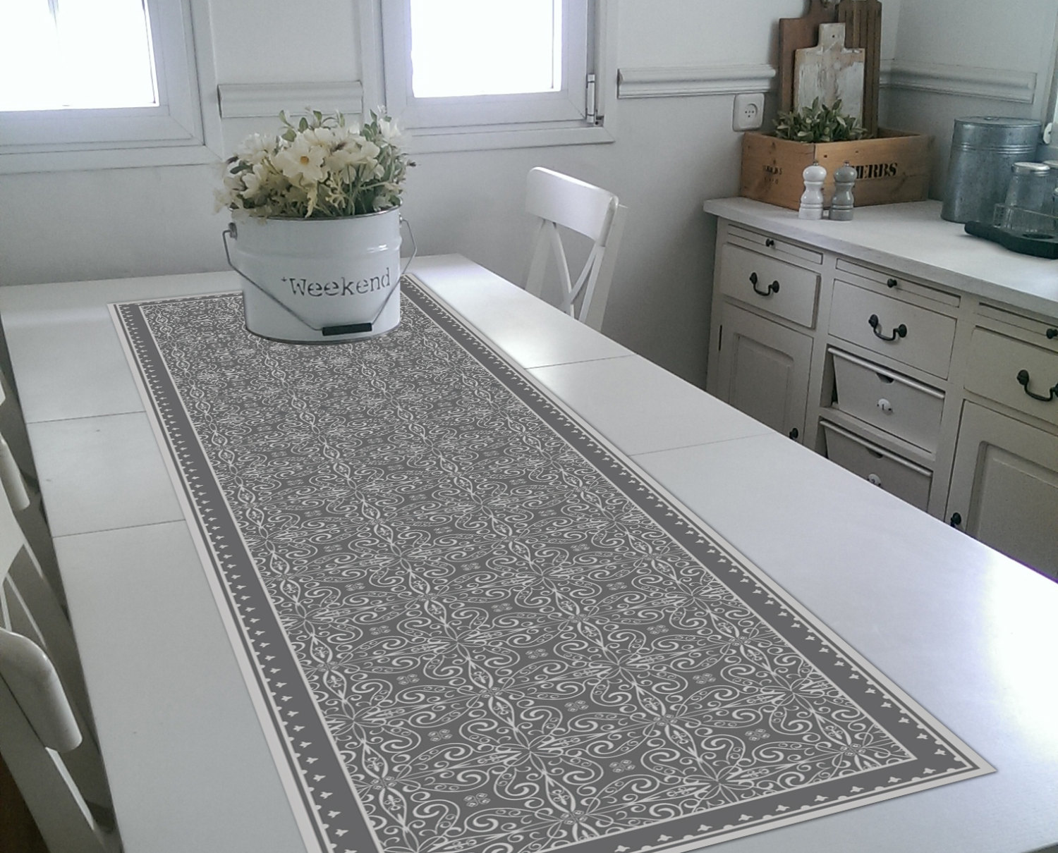 Grey Table Runners: Add classic beauty to your dining table with a table runner. jomp16.tk - Your Online Table Linens & Decor Store! Get 5% in rewards with Club O!