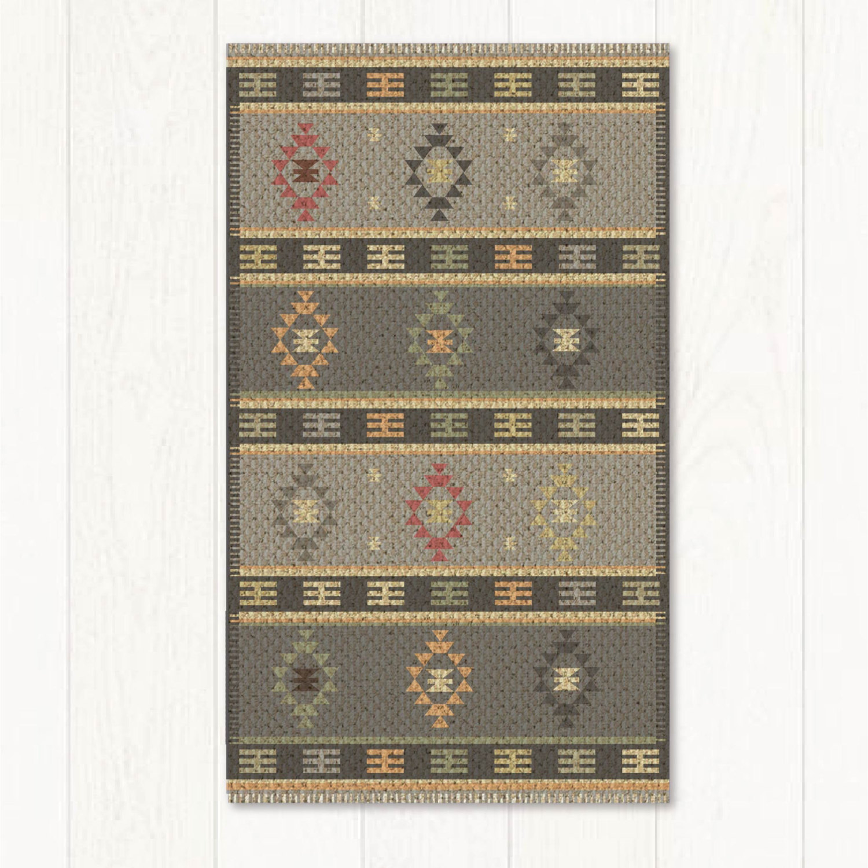 Kilim rug, Pvc mat, Vintage Turkish rug, rugs, area rug, vintage rug, bohemian rug, eclectic rug, rug 602