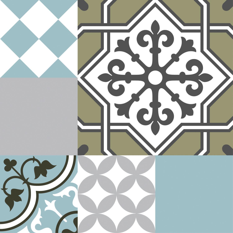 Mix Tile Decals Kitchenbathroom Tiles Vinyl Floor