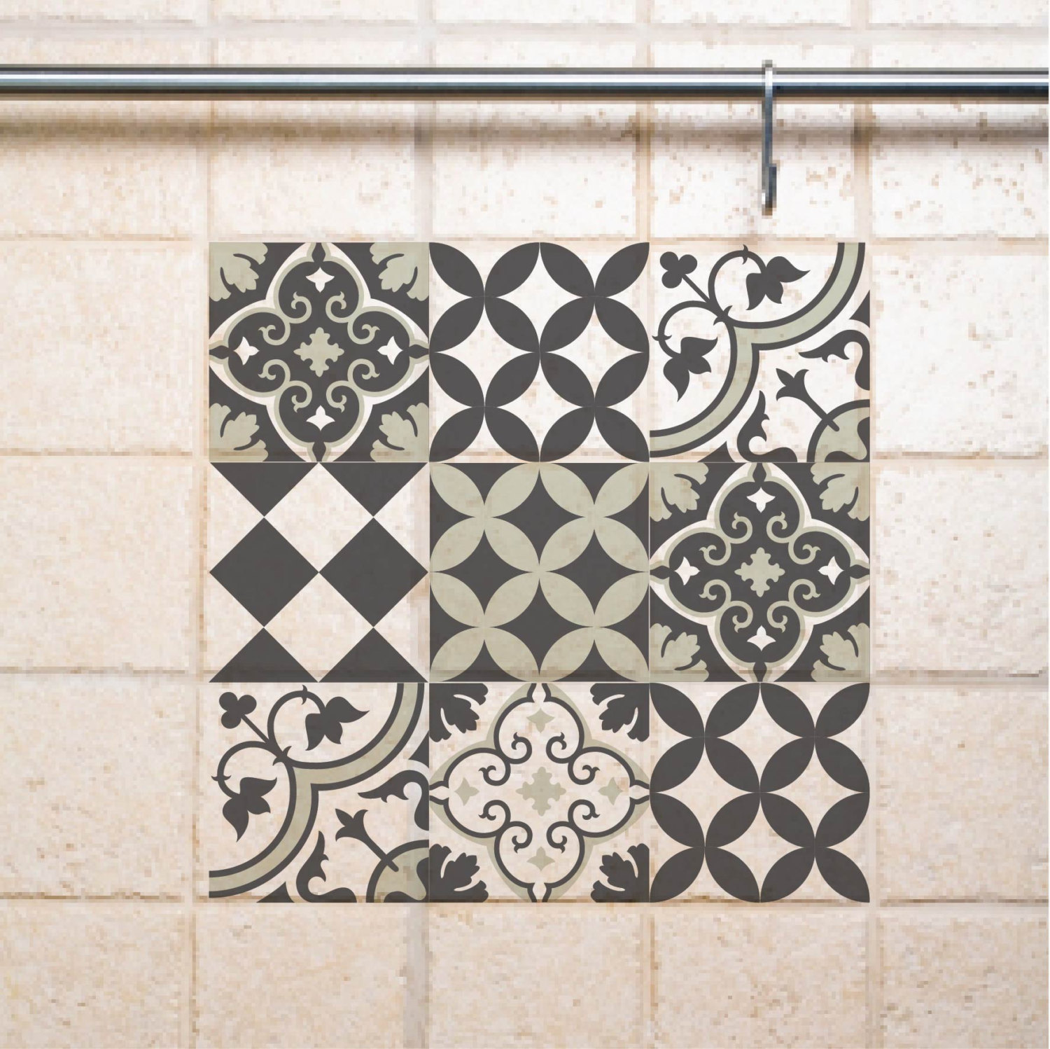 28 Amazing Bathroom Tiles Vinyl