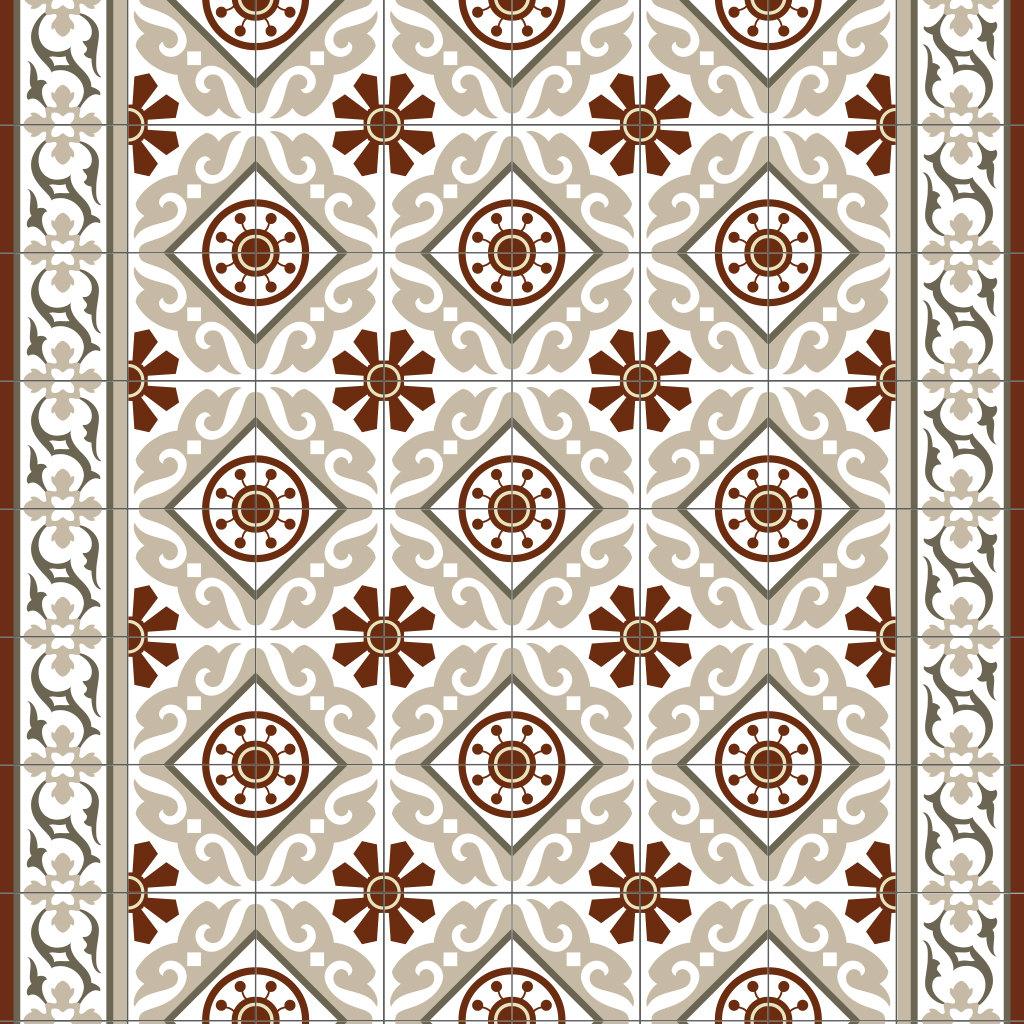 pvc vinyl mat tiles pattern decorative linoleum rug. Black Bedroom Furniture Sets. Home Design Ideas