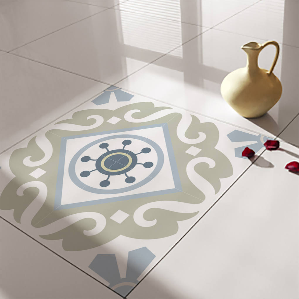 Decorative tiles for Floor stickers