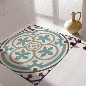 Floor Tile Decals/Stickers, Vinyl Decals, Vinyl Floor, Self Adhesive, Tile Stickers, Decorative Tile, Flooring, Removable Stickers no. 106