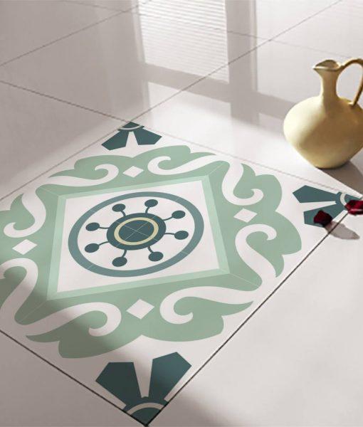 Floor Tile Decals/Stickers, Vinyl Decals, Vinyl Floor, Self Adhesive, Tile Stickers, Decorative Tile, Flooring, Removable Stickers no. 211