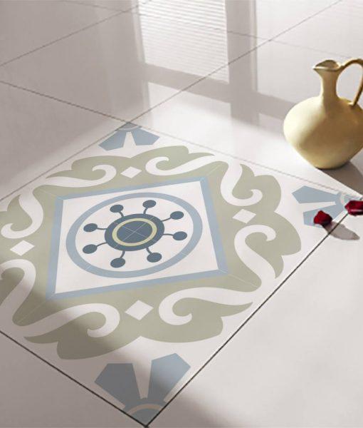 Floor Tile Decals/Stickers, Vinyl Decals, Vinyl Floor, Self Adhesive, Tile Stickers, Decorative Tile, Flooring, Removable Stickers no. 212