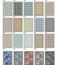 Kitchen Mat, Kitchen décor, Mat, rustic kitchen, Decorative tiles, Designed kitchen, Printed mat, Pvc mat, Black & gray, no. 601