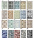 Kitchen Mat, Kitchen décor, Mat, rustic kitchen, Decorative tiles, Designed kitchen, Printed mat, Pvc mat, Black & white, no. 132
