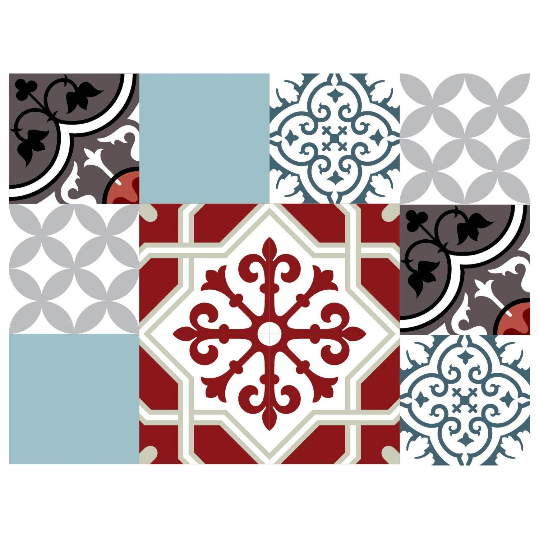Mix Tile Decals Kitchen/Bathroom tiles vinyl floor tiles ...