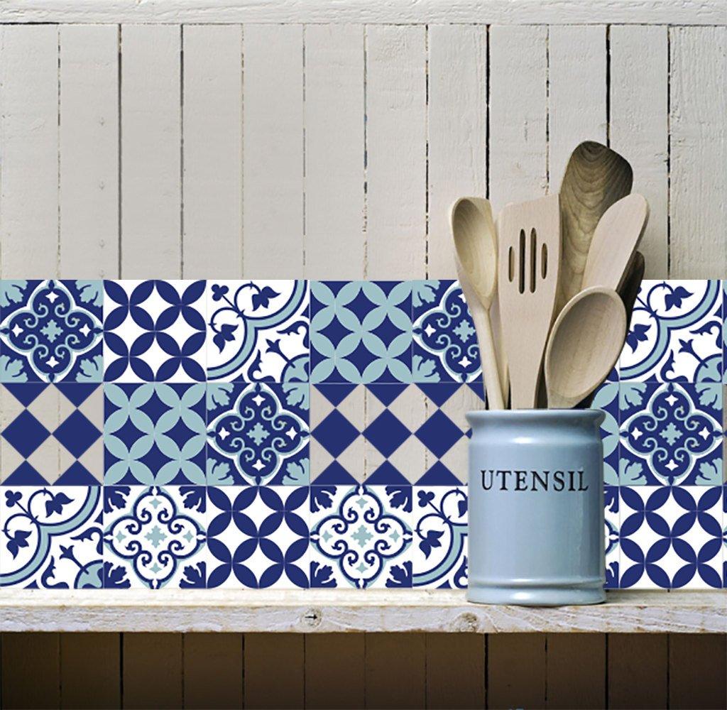 Mix Tile Decals Kitchen Bathroom Tiles Vinyl Floor Free Shipping Design 309