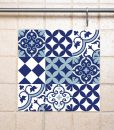 Mix Tile Decals  Kitchen/Bathroom tiles vinyl floor tiles free shipping – design 309