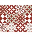 Mix Tile Decals  Kitchen/Bathroom tiles vinyl floor tiles free shipping – design 311