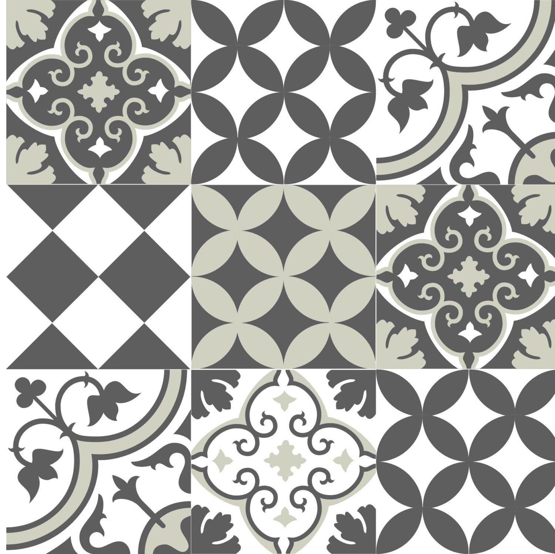 Mix Tile Decals Kitchen Bathroom Tiles Vinyl Floor Tiles