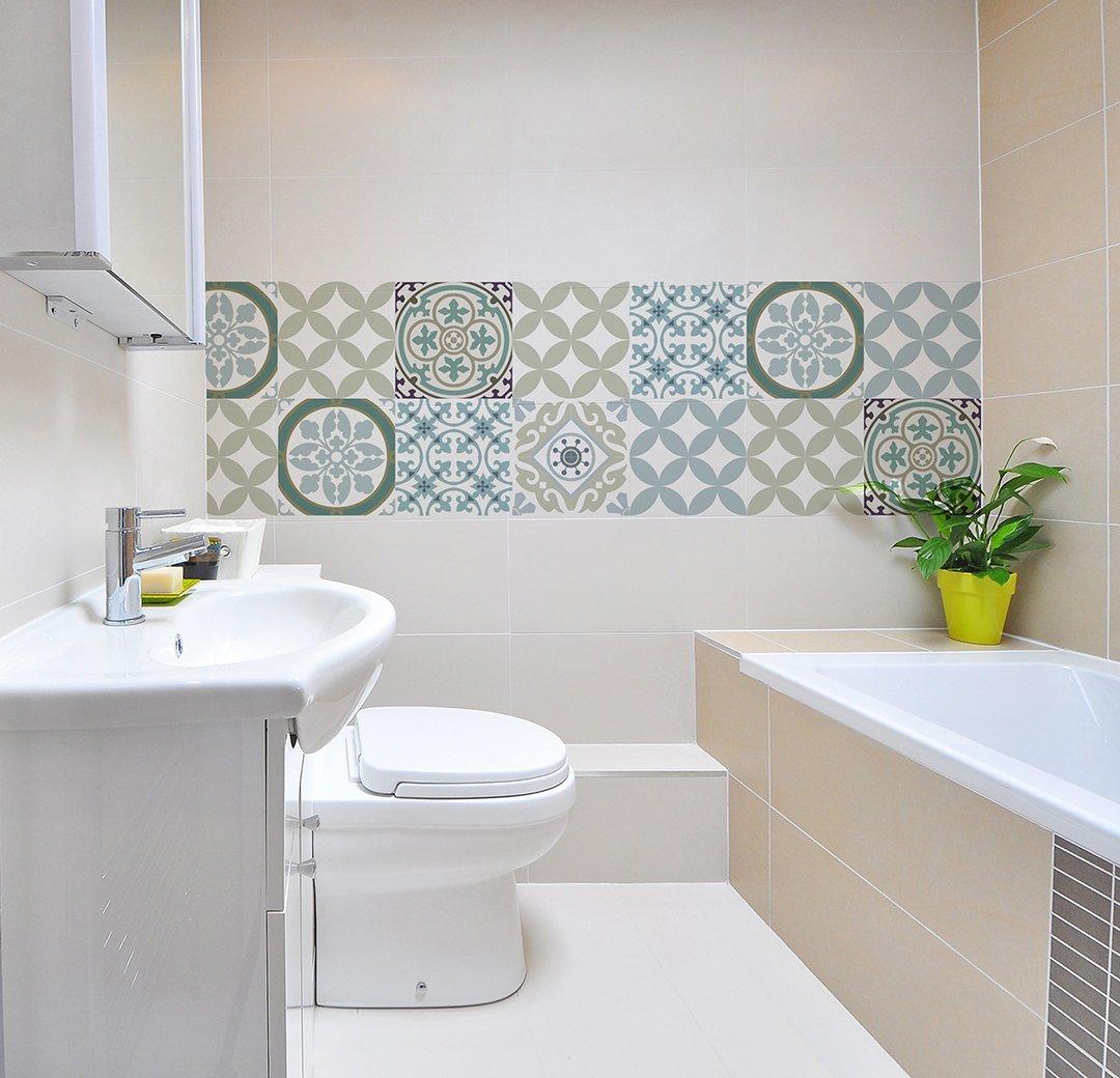 Mix Tile Decals Kitchen Bathroom Tiles Vinyl Floor Tiles Free Shipping Design 314 Vanill Co