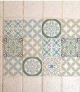 Mix Tile Decals  Kitchen/Bathroom tiles vinyl floor tiles free shipping – design 314