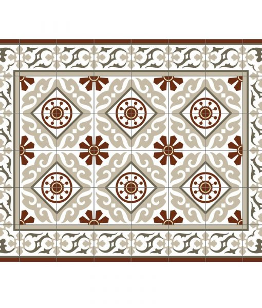 Placemat, PVC , Tile decoration design, Dinning wear, Table wear , Holidays gift, chrismas gift, Centerpiece, table decoration, design 210