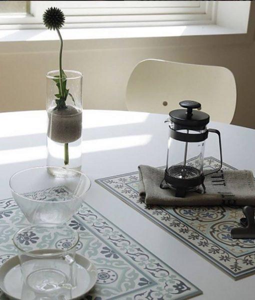 Placemat, PVC , Tile decoration design, Dinning wear, Table wear , Holidays gift, chrismas gift, Centerpiece, table decoration, design 211