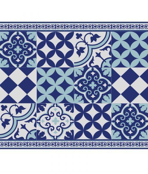 Placemat, PVC , Tile decoration design, Dinning wear, Table wear , Holidays gift, chrismas gift, Centerpiece, table decoration, design 309