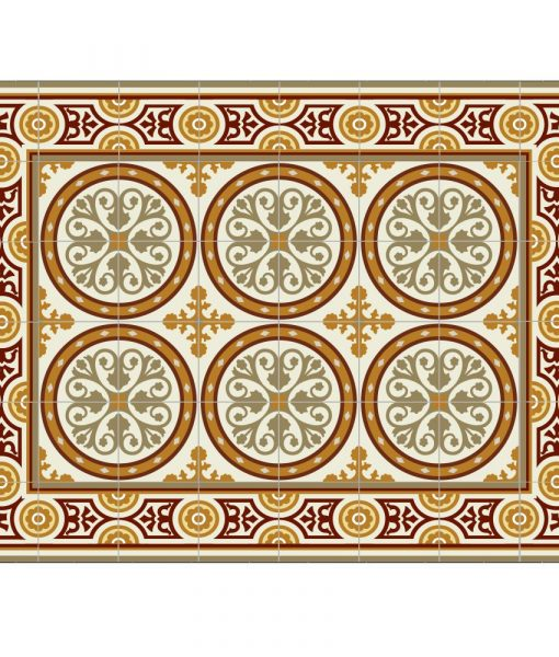 Placemat, PVC , Tile decoration design, Dinning wear, Table wear , Holidays gift, chrismas gift, Centerpiece, table decoration, design 811