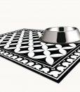 PVC Door Mat, Welcome Mat, Tile rug , Dog Rug, Pets mat,  Comfort mat, Housewarming , 132