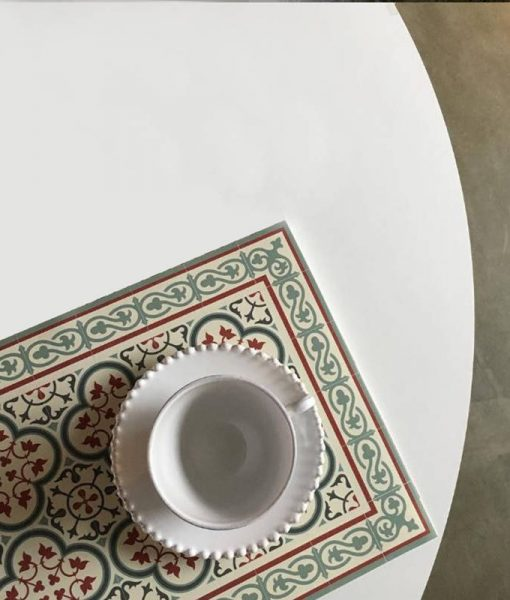 Pvc placemat, table wearing , Home gifts, Kitchen décor placemat, dining table wear, decorative tiles, chrisms gift, design 177